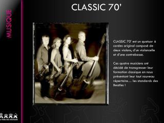 CLASSIC 70�