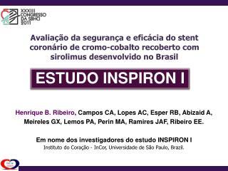 ESTUDO INSPIRON I