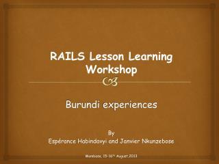 Burundi  experiences
