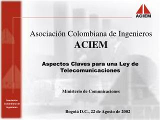 Asociación Colombiana de Ingenieros ACIEM