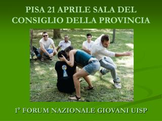 PISA 21 APRILE SALA DEL CONSIGLIO DELLA PROVINCIA