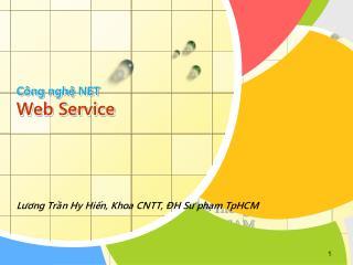 Công nghệ NET Web Service