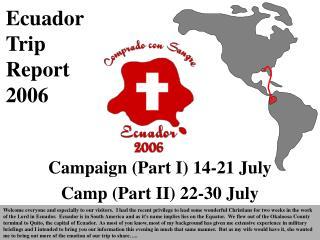 Ecuador  Trip  Report 2006