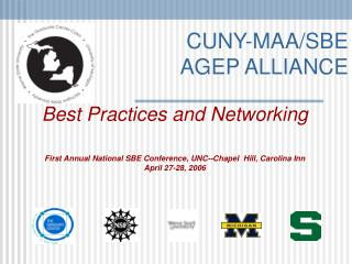 CUNY-MAA/SBE AGEP ALLIANCE