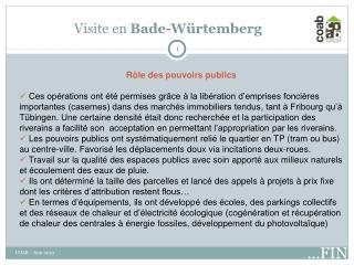 Visite en  Bade-Würtemberg