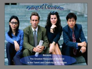 CTC College of Knowledge Primer