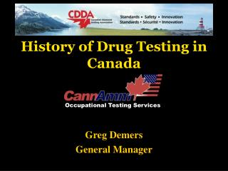 History of Drug Testing in Canada