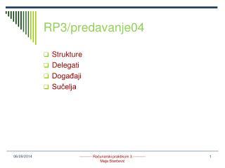 RP3/predavanje04