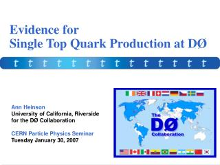 Evidence for Single Top Quark Production at D�