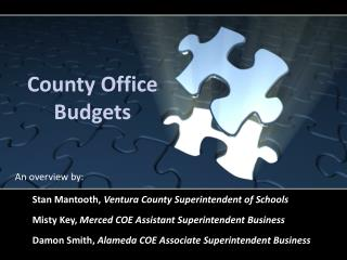 County Office Budgets