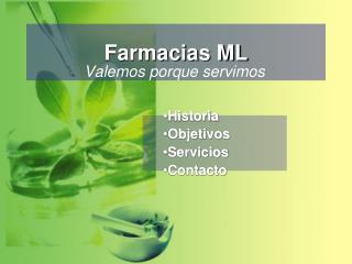 Farmacias ML