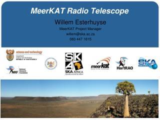 MeerKAT Radio Telescope