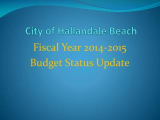 City of Hallandale Beach