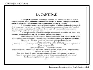 CEIP Miguel de Cervantes