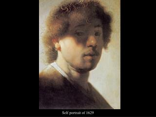 Self portrait of 1629