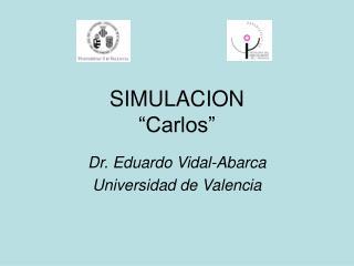 """SIMULACION """"Carlos"""""""