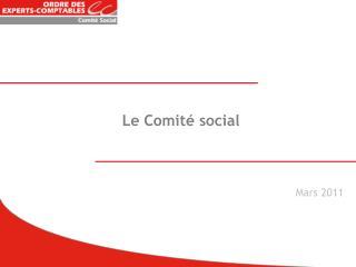 Le Comité social