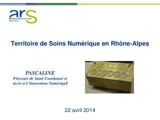 Territoire de Soins Numérique en Rhône-Alpes