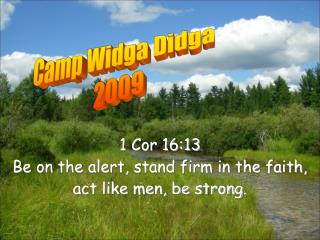 Camp Widga Didga  2009