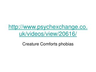 psychexchange.co.uk/videos/view/20616/