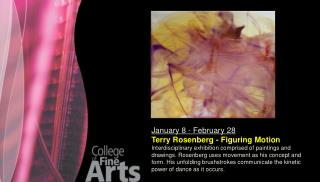 January 8 - February 28 Terry Rosenberg - Figuring Motion