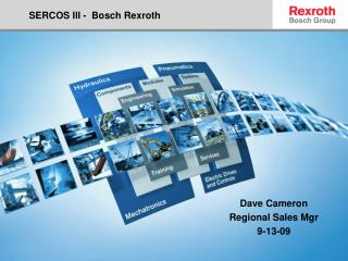 SERCOS III -  Bosch Rexroth