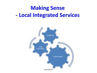 Making Sense - Local Integrated Services
