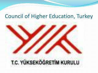 Council  of  Higher Education ,  Turkey