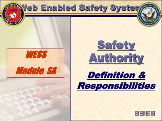 Web Enabled Safety System