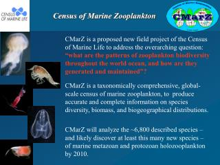 Census of Marine Zooplankton