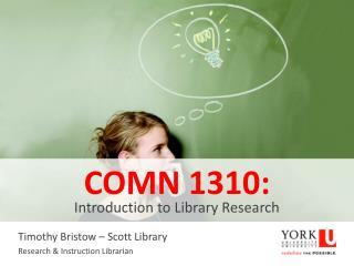 COMN 1310: