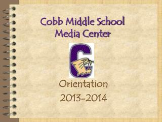 Cobb Middle School Media Center