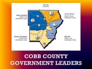 COBB COUNTY GOVERNMENT LEADERS