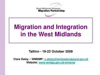 Migration and Integration in the West Midlands