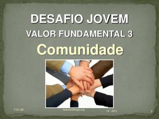 DESAFIO JOVEM VALOR FUNDAMENTAL 3