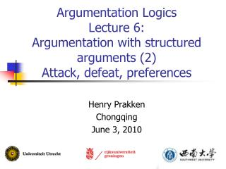 Henry Prakken Chongqing June 3, 2010