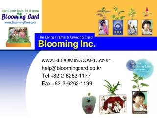 Blooming Inc.