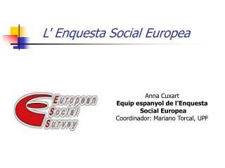 L' Enquesta Social Europea