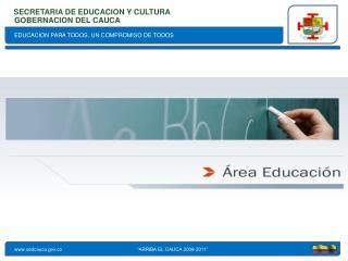 EDUCACION PARA TODOS, UN COMPROMISO DE TODOS
