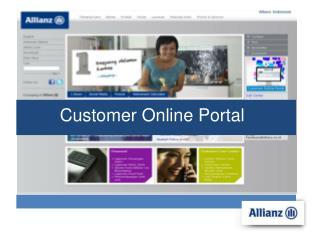 Customer Online Portal
