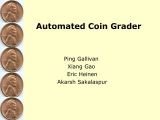 Automated Coin Grader