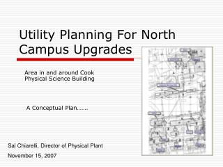 Utility Planning For North Campus Upgrades