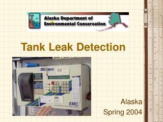 Tank Leak Detection