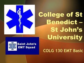 College of St Benedict �  St John�s University