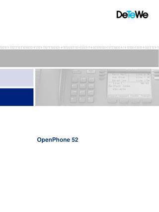OpenPhone 52