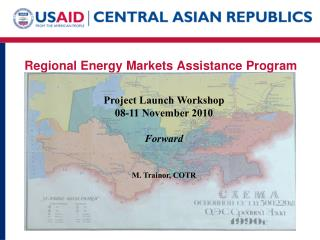 Regional Energy Markets Assistance Program