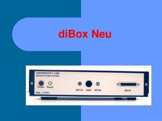diBox Neu