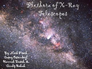 Plethora of X-Ray Telescopes