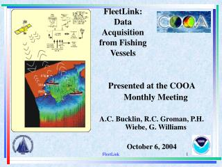 FleetLink:  Data Acquisition  from Fishing Vessels