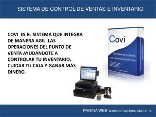 SISTEMA DE CONTROL DE VENTAS E INVENTARIO